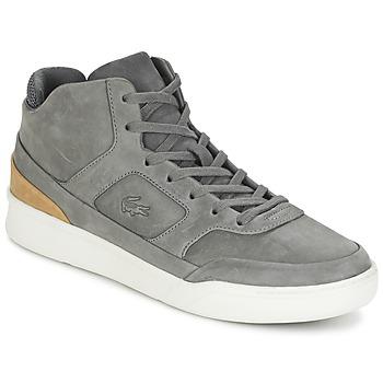 Shoes Men High top trainers Lacoste EXPLORATEUR MID 316 2 Grey