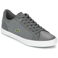 Shoes Men Low top trainers Lacoste LEROND 316 1 Grey
