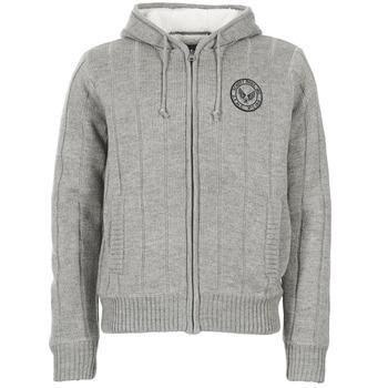 material Men Jackets / Cardigans Schott DUNLIN Grey