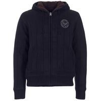 material Men Jackets / Cardigans Schott DUNLIN Black