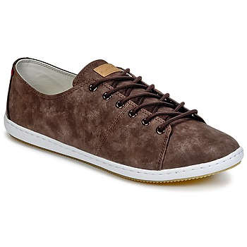 Shoes Men Low top trainers Lafeyt BRAUWG PU Brown
