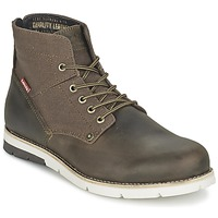 Shoes Men Mid boots Levi's JAX Brown