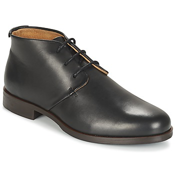 Shoes Men Mid boots M. Moustache EDMOND Black