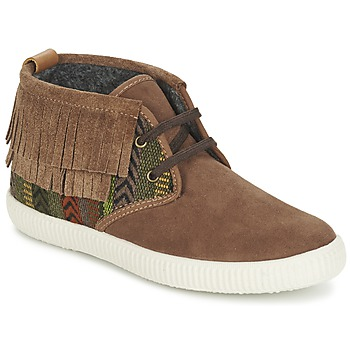 Shoes Women High top trainers Victoria SAFARI FLECOS ANTELINA ETNIC Brown