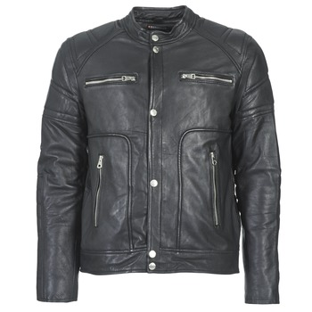 material Men Leather jackets / Imitation le Redskins MONTANA Black