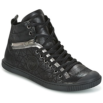Shoes Women High top trainers Pataugas BANJOU Black