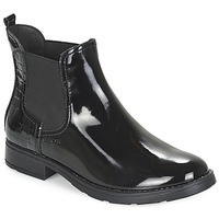 Shoes Girl Mid boots Geox SOFIA Black
