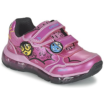 Shoes Girl Low top trainers Geox ANDROID GIRL Pink