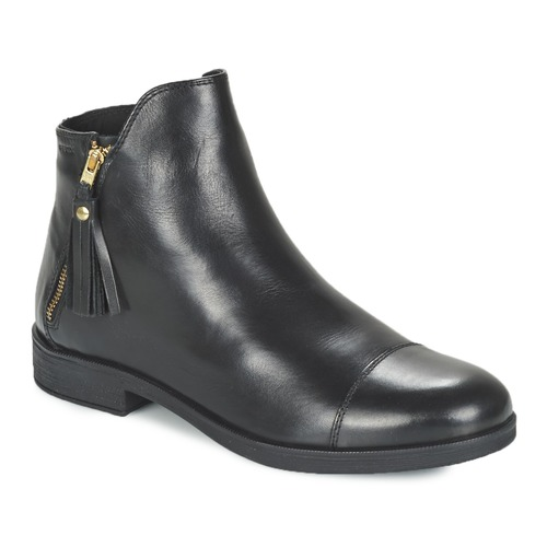 Shoes Girl Mid boots Geox AGATE Black