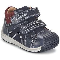 Shoes Boy High top trainers Geox B TOLEDO BOY Blue