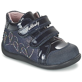 Shoes Girl High top trainers Pablosky VANIDELLE MARINE