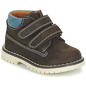 Shoes Boy Mid boots Pablosky ESBATIATE Brown