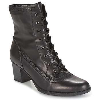 Shoes Women Ankle boots Rieker SEBILLE Black