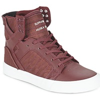 Shoes High top trainers Supra SKYTOP BORDEAUX