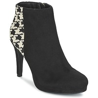Shoes Women Ankle boots Moony Mood FILO Black