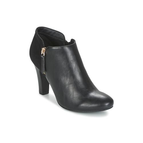 Shoes Women Low boots Moony Mood FADI Black