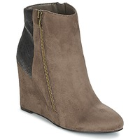 Shoes Women Ankle boots Moony Mood FIKI TAUPE