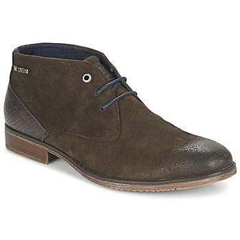 Shoes Men Mid boots Tom Tailor REVOUSTI Brown