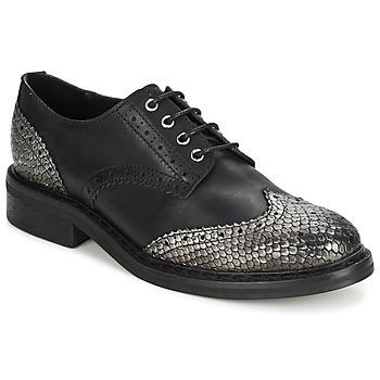 Shoes Women Derby shoes Koah LESTER  BLACK / SILVER