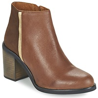 Shoes Women Ankle boots Casual Attitude FELICITA Brown