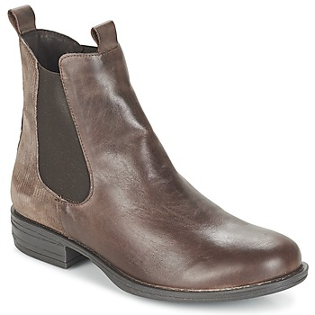 Shoes Women Mid boots Casual Attitude FENDA TAUPE