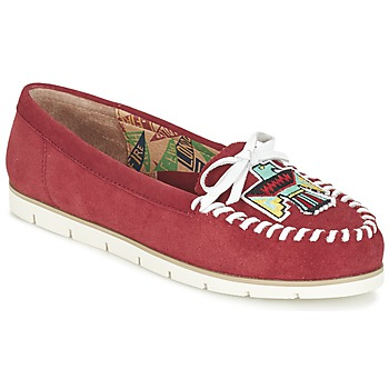 Shoes Women Loafers Miss L'Fire YHUNDERBIRD Red