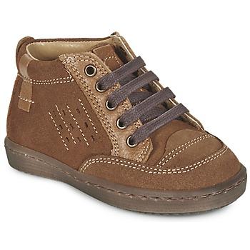 Shoes Boy Mid boots Citrouille et Compagnie FIMOULA Brown