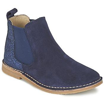 Shoes Girl Mid boots Citrouille et Compagnie FIGOULI Blue