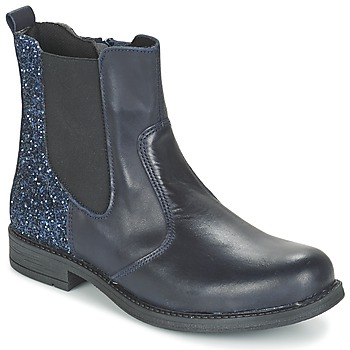 Shoes Girl Mid boots Citrouille et Compagnie FAGIMO Marine