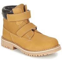 Shoes Children Mid boots Citrouille et Compagnie FIKOURAL BEIGE