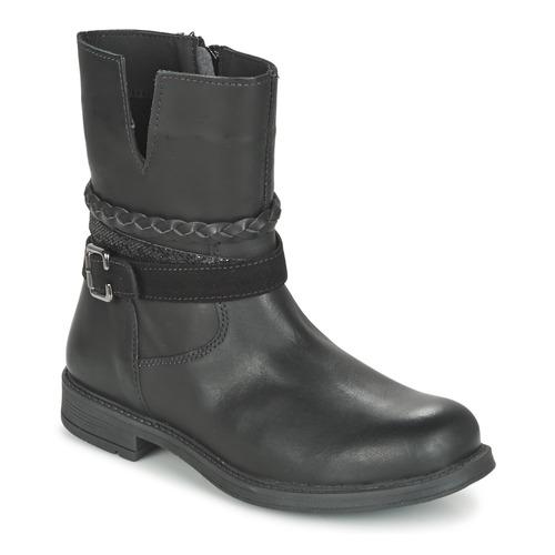 Shoes Girl Mid boots Citrouille et Compagnie FURAMO Black