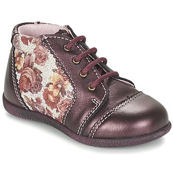 Shoes Girl Mid boots Citrouille et Compagnie FRICOL Violet