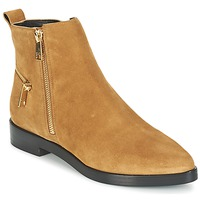 Shoes Women Mid boots Kenzo TOTEM FLAT BOOTS Camel