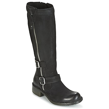 Shoes Women Boots Dream in Green RAZINE Black