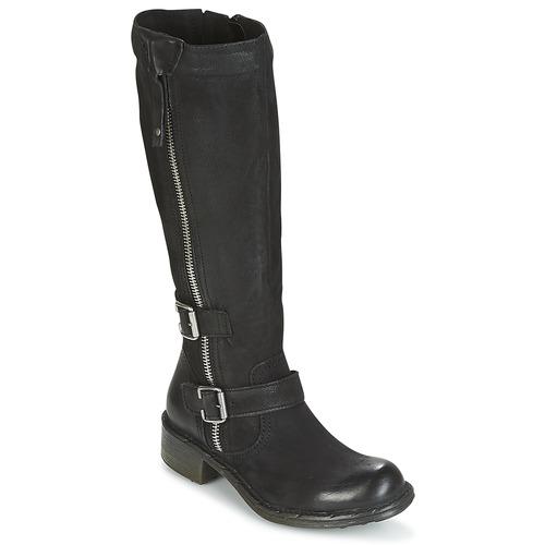 Shoes Women Boots Dream in Green RAZINE Black