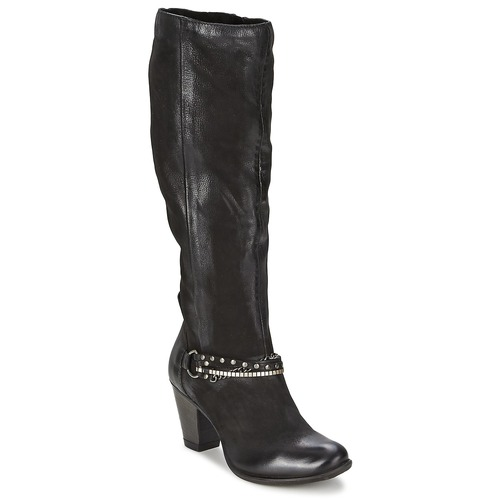 Shoes Women Boots Dream in Green ZAHI Black