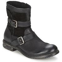 Shoes Men Mid boots Dream in Green HASSIB Black