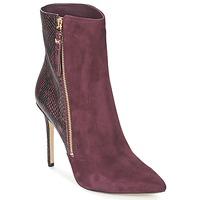 Shoes Women Low boots MICHAEL Michael Kors DAWSON BOOTIE BORDEAUX
