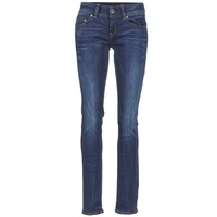 material Women straight jeans G-Star Raw MIDGE SADDLE MID STRAIGHT Denim