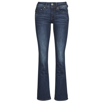 material Women bootcut jeans G-Star Raw MIDGE SADDLE MID BOOTLEG Neutro / Stretch / DENIM / DK / Aged