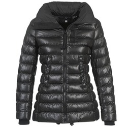material Women Duffel coats G-Star Raw WHISTLER SLIM COAT Black