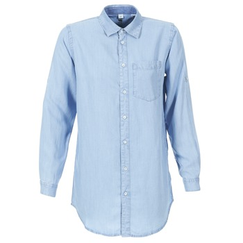 material Women Shirts G-Star Raw CORE BF 1PKT Blue