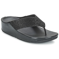 Shoes Women Sandals FitFlop CRYSTALL Black