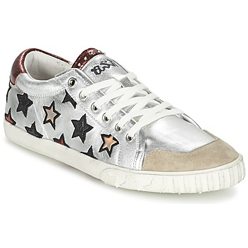 Shoes Women Trainers Ash MAJESTIC Silver