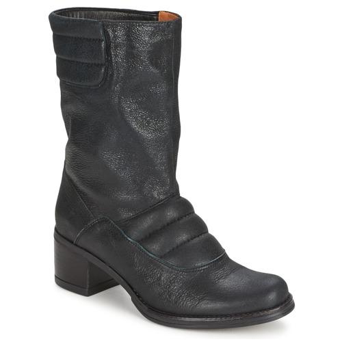 Shoes Women Mid boots Espace DORPIN Black