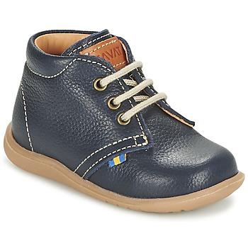 Shoes Boy Mid boots Kavat HAMMAR LACE Blue