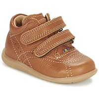Shoes Boy Mid boots Kavat VANSBRO EP Brown / Clear