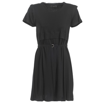 material Women Short Dresses Diesel D LETO Black