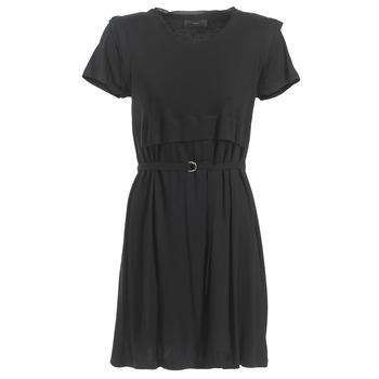 material Women Short Dresses Diesel D LETO Black