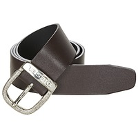 Clothes accessories Men Belts Diesel BAWRE Brown